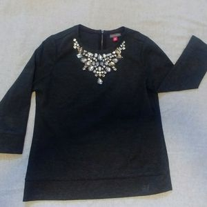Vince Camuto | Top with Rhinestones